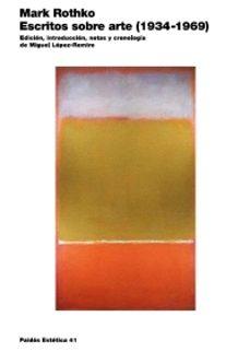 escritos sobre arte (1934-1969)-mark rothko-9788449319952