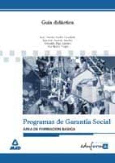 Geekmag.es Area De Formacion Basica: Guia Didactica (Garantia Social) Image