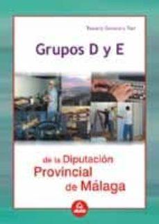 Inmaswan.es Grupos D Y E De La Diputacion Provincial De Malaga: Temario Y Tes T Image