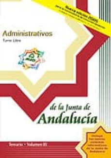 Concursopiedraspreciosas.es Administrativos De La Junta De Andalucia: Turno Libre: Temario (V Ol. Iii) Image