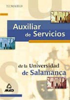 Vinisenzatrucco.it Auxiliar De Servicios De La Universidad De Salamanca. Temario Image