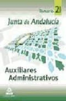 Garumclubgourmet.es Auxiliares Administrativos De La Junta De Andalucia. Temario. (Vo L. Ii) Image