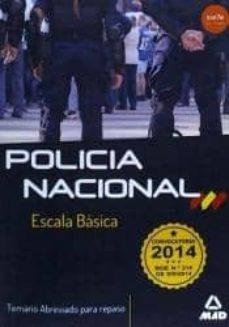 Titantitan.mx Escala Basica De Policia Nacional. Temario Abreviado Para Repaso Image