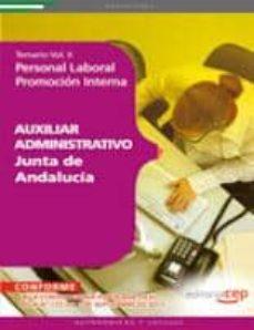 Colorroad.es Auxiliar Administrativo De La Junta De Andalucia. Personal Labora L Promocion Interna. Temario Vol. Ii Image