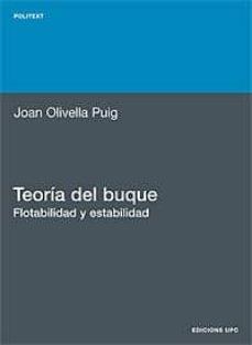 Descargar TEORIA DEL BUQUE, FLOTABILIDAD Y ESTABILIDAD gratis pdf - leer online