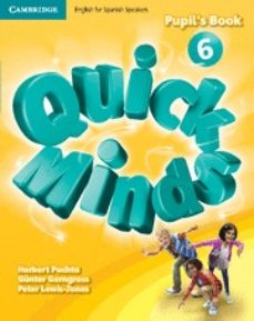 Descargas de libros electrónicos gratis para tabletas QUICK MINDS LEVEL 6 PUPIL S BOOK SPANISH EDITION de   9788483235652 (Literatura española)