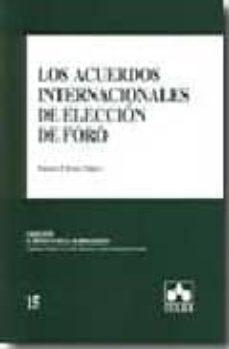 Carreracentenariometro.es Los Acuerdos Internacionales De Eleccion De Foro Image