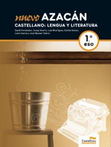 Iguanabus.es Nuevo Azacán. Castellano: Lengua Y Literatura(l+cd) 1º Eso Image