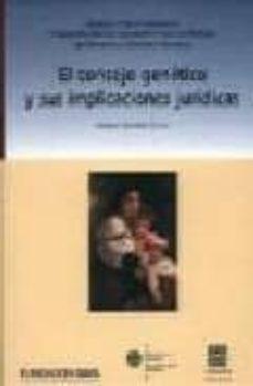Descarga gratuita de audiolibros de libros electrónicos EL CONSEJO GENETICO Y SUS IMPLICACIONES JURIDICAS de AITZIBER EMALDI CIRION MOBI iBook PDB in Spanish 9788484443452