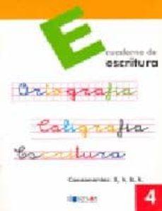 Permacultivo.es Escritura: Educacion Primaria: Cuaderno 4 Image