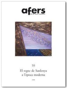 Inmaswan.es Afers 59: El Regne De Sardenya A L Epoca Moderna Image