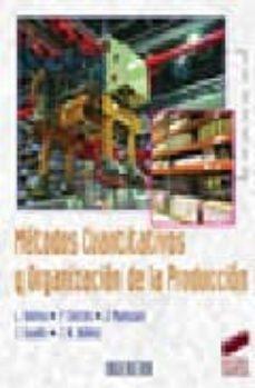 metodos cuantitativos y organizacion de la produccion-9788497564052