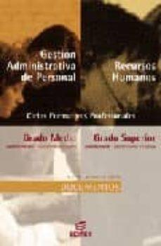 Permacultivo.es Gestion Administrativa De Personal Y Recursos Humanos: Documentos (Ciclo Formativo Grado Medio) Image