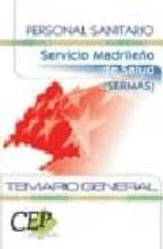 Enmarchaporlobasico.es Personal Sanitario: Servicio Madrileño De Salud (Sermas): Temario General Image