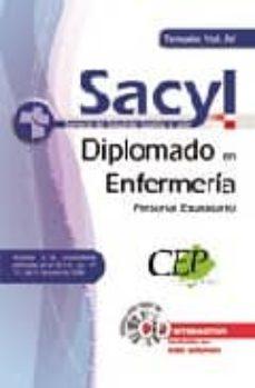Noticiastoday.es Temario Vol. Iv: Oposiciones Diplomado En Enfermeria. Personal Es Tatutario Servicio De Salud Castilla Y Leon (Sacyl) Image