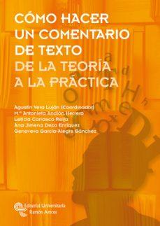 Inmaswan.es Como Hacer Un Comentario De Texto: De La Teoria A La Practica Image