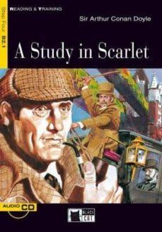 Descarga gratuita de ebooks móviles en jar A STUDY IN SCARLET. BOOK + CD 9788853002952