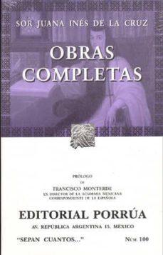 Permacultivo.es Obras Completas: Sor Juana Ines De La Cruz Image