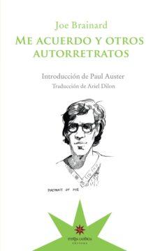 Ebook descargas gratuitas de libros electrónicos ME ACUERDO Y OTROS AUTORRETRATOS 9789877121452 (Spanish Edition)