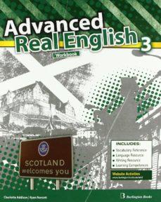 advanced real english 3º eso (workbook + language builder)-9789963484652