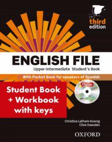 Descargar libros gratis para ipad cydia ENGLISH FILE UPPER INTERMEDIATE. STUDENT S BOOK WITH WORKBOOK WITH ANSWERS (3RD ED.) 9780194558662 (Literatura española) de  RTF