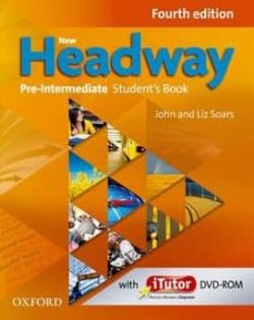 new headway pre-intermediate (4th ed) student s book with itutor dvd-rom-9780194769662