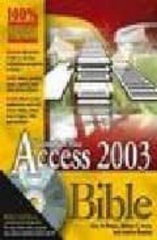microsoft access 2003 bible (inlcudes cd rom)-cary n. et al. prague-9780764539862