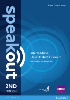 Descargas fáciles de libros electrónicos en inglés SPEAKOUT INTERMEDIATE 2ND EDITION FLEXI STUDENTS  BOOK 1 PACK  9781292160962 en español de