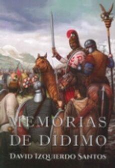 Libros online para descargar en pdf. MEMORIAS DE DIDIMO (Literatura española) 9788416373062 CHM
