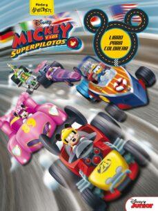 mickey y los superpilotos. libro para colorear-9788416913862