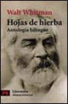hojas de hierba: antologia bilingüe-walt whitman-9788420634562