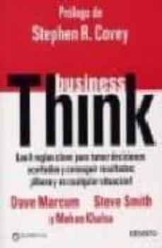 Eldeportedealbacete.es Business Think: Las 8 Reglas Clave Para Tomar Decisiones Acertada S Y Conseguir Resultados Image