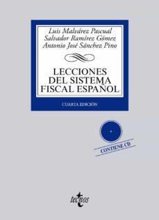 Descargar LECCIONES DEL SISTEMA FISCAL ESPAÃ'OL gratis pdf - leer online