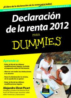 Emprende2020.es Declaracion De La Renta 2012 Para Dummies Image