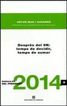 Inmaswan.es Despres Del 9n: Temps De Decidir, Temps De Sumar Image