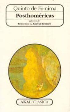 Descargar ebook de Google en pdf POSTHOMERICAS 9788446004462 (Spanish Edition)