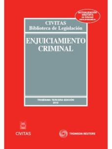 Eldeportedealbacete.es Enjuiciamiento Criminal (33ª Ed) Image