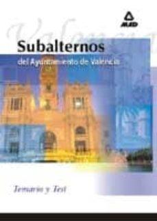 Inmaswan.es Subalternos Del Ayuntamiento De Valencia: Temario Y Test Image