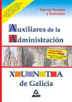 Permacultivo.es Auxiliares De La Administracion De La Xunta De Galicia: Test Del Temario Y Examenes Image