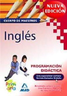 Inciertagloria.es Cuerpo De Maestros. Programacion Didactica. Ingles Image