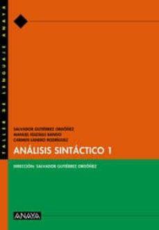 analisis sintactico 1-salvador gutierrez ordoñez-9788466716062