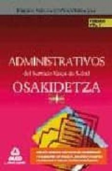 Relaismarechiaro.it Administrativos Del Servicio Vasco De Salud/osakidetza. Temario. Volumen Ii Image