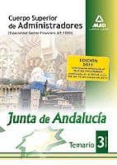 Curiouscongress.es Cuerpo Superior De Administradores (Especialidad Gestion Financie Ra (A1 1200)] De La Junta De Andalucia. Temario. Volumen Iii Image