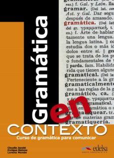 Amazon books kindle descargas gratuitas GRAMATICA EN CONTEXTO en español 9788477117162 PDB iBook de CLAUDIA JACOBI, ENRIQUE MELONE