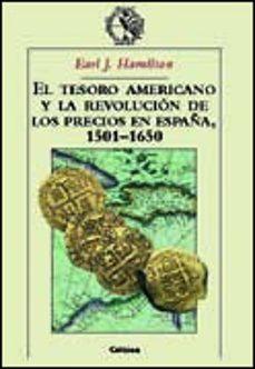Javiercoterillo.es El Tesoro Americano Y La Revolucion De Los Precios En España 1501 -1650 Image