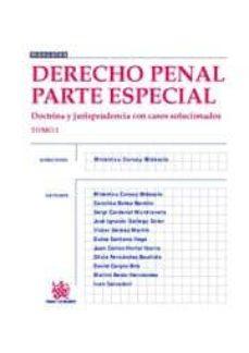 Lofficielhommes.es Derecho Penal Parte Especial: Tomo 1. Doctrina Y Jurisprudencia C On Casos Solucionados Image