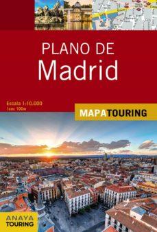 plano de madrid 2018 (11ª ed.) (mapa touring)-9788491581062