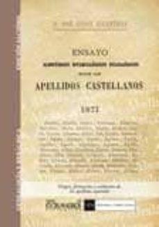 Permacultivo.es Ensayo Historico-etimologico Filologico Sobre Los Apellidos Castellanos Image