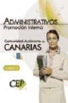 Carreracentenariometro.es Test Oposiciones Administrativos Comunidad Autonoma De Canarias. Promocion Interna Image