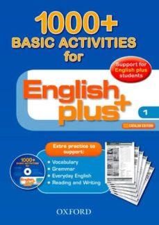 Permacultivo.es English Plus 1 Basic Activities 1000+ (Cat) Image